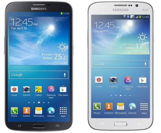 Samsung Galaxy Mega 6.3 y Mega 5.8 pronto en México