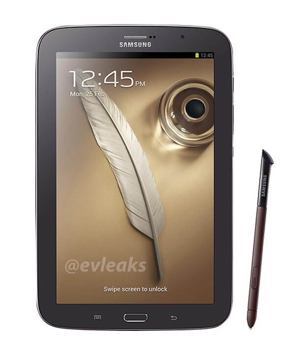Samsung Galaxy Note 8.0 en color Café marrón (Brown)