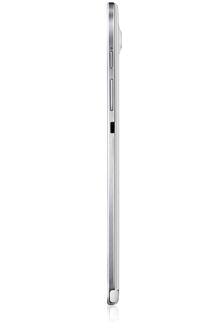 Samsung Galaxy Note 8.0 WiFi en México de lado espesor