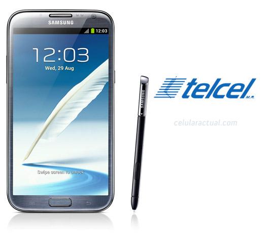 Samsung Galaxy Note II LTE ya en México con Telcel
