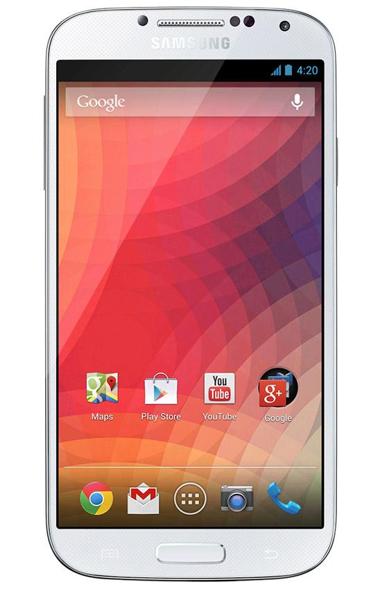 El Samsung Galaxy S4  libre desde Google Play