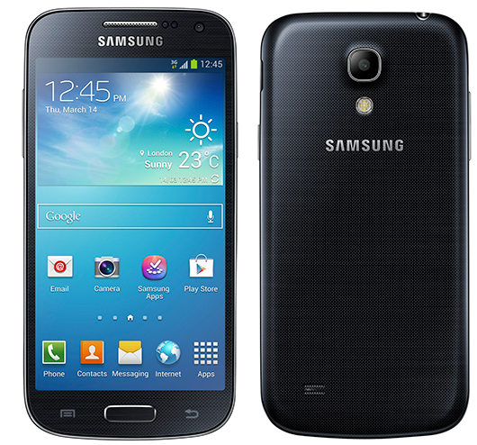 Samsung Galaxy S4 mini oficial color Black Mist