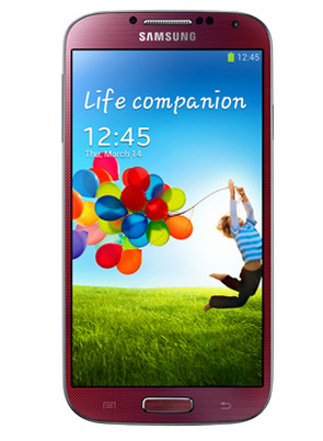 Samsung Galaxy S4 Red Aurora Rojo