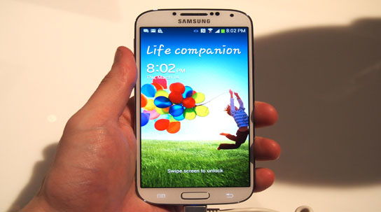 Prueba el Galaxy S4 en tu computadora