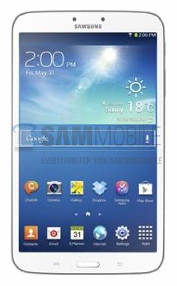 Samsung Galaxy Tab 3 8.0 filtrada