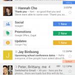 Gmail se actualiza en iOS y Android con nuevo diseño y opciones