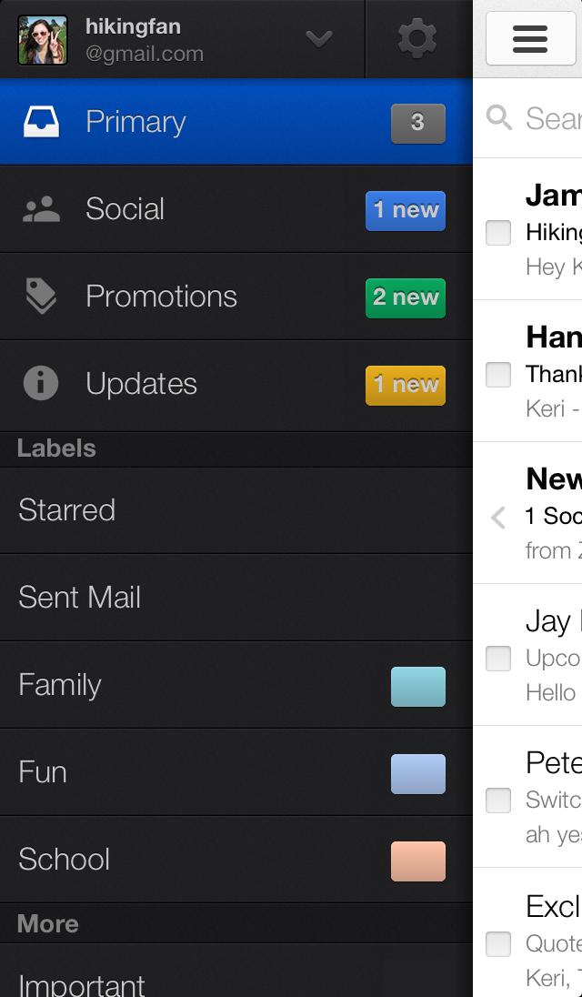 Gmail se actualiza en iOS y Android nuevo diseño y opciones