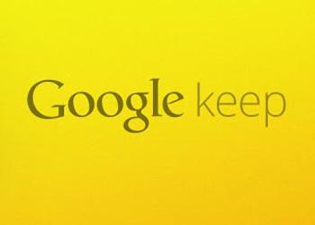 El servicio para tomar notas de Google Keep llega a Chrome