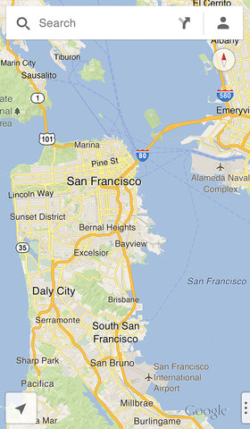 App de Google Maps