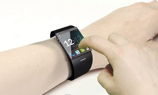 Google Smartwatch render no oficial