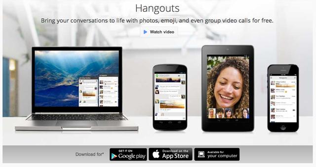 Hangouts, la unificación de los servicios de mensajería de Google