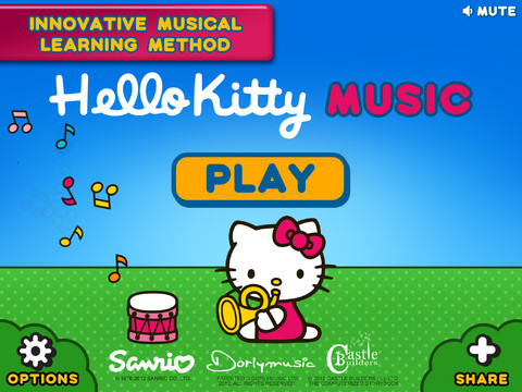 La app Hello Kitty Music Piano Play-Along Deluxe
