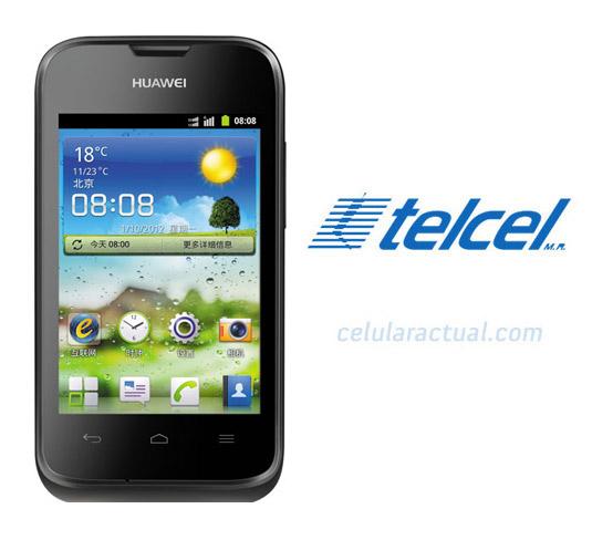 Huawei Ascend Y210 ya en México con Telcel muy accesible