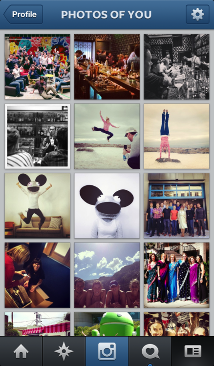 Instagram ahora con Photos of you Fotos de ti