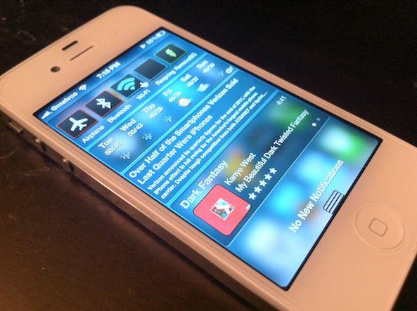 iPhone con widgets gracias a jailbreak