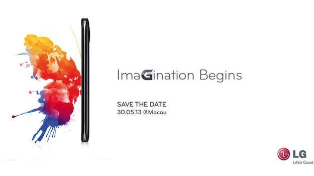 LG invitación Imagination Begins Mayo 30