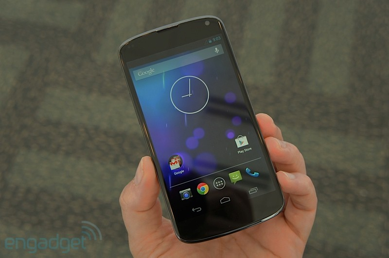 LG Nexus 4 blanco en hands-on