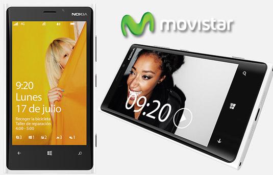 Nokia Lumia 920 color blanco en Movistar México