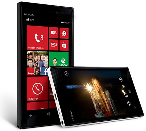 Nokia Lumia 928 color negro y blanco oficial