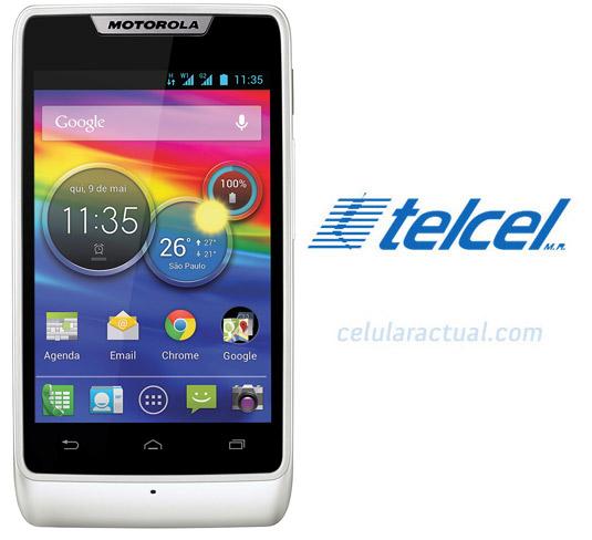 Motorola RAZR D1 XT914 en México con Telcel