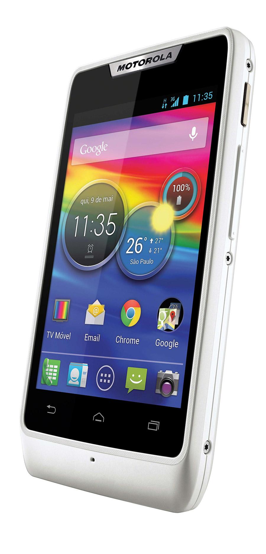 Motorola RAZR D1 XT914 en México con Telcel color blanco
