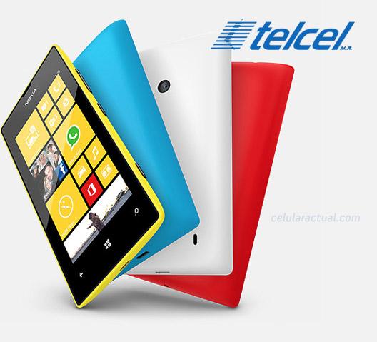 Nokia Lumia 520 en México con Telcel