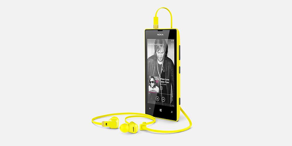 Nokia Lumia 520 en México con Telcel color amarillo