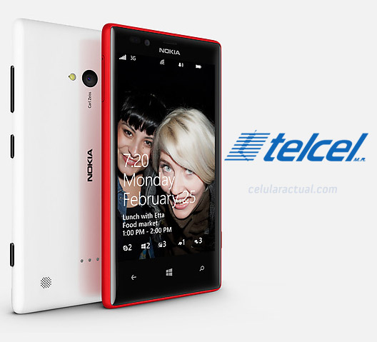 Nokia Lumia 720 en México con Telcel