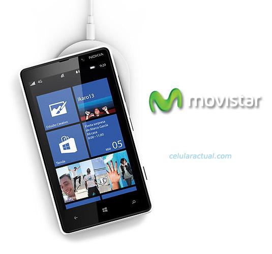 Nokia Lumia 820 con Movistar en México color blanco