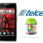Motorola RAZR MAXX y RAZR comienza actualización a Android Jelly Bean en Telcel México