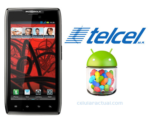RAZR Maxx recibe Android 4.1 Jelly Bean en Telcel