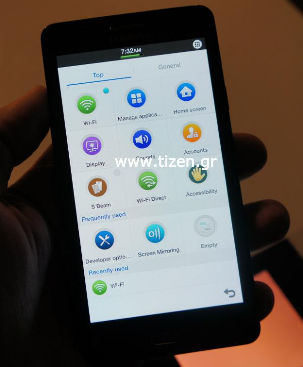 Samsung GT-I8800 con Tizen 2.1