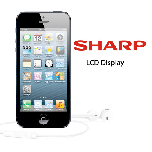 Sharp iPhone 5LCD pantallas display Logo
