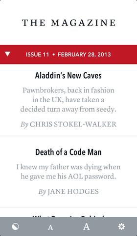 App de The Magazine