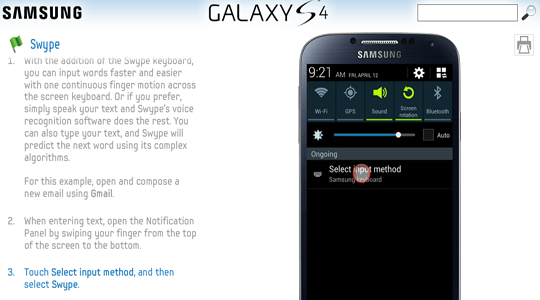 Tutorial de función Galaxy S4
