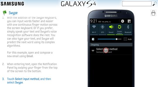 Tutorial de función Galaxy S4