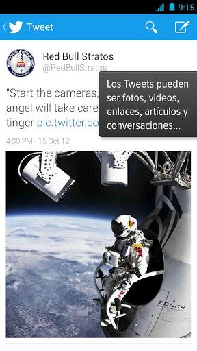 Twitter para Android recibe nuevas funciones