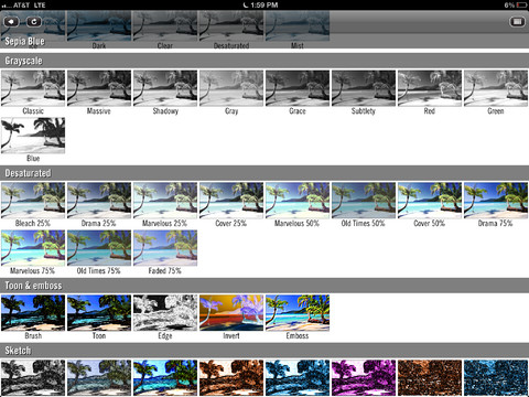 Filtros de Video Filters para iOS