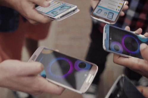 Galaxy S4 en color Marrón en Video promocional
