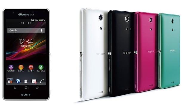 El Sony Xperia A para Japón