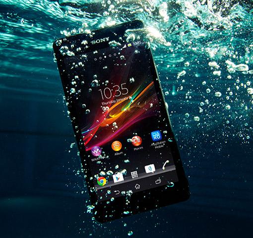 Sony Xperia ZR a prueba de agua