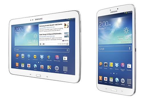 Samsung Galaxy Tab 3 8.0 y Galaxy Tab 3 10.1