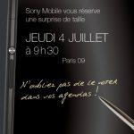 Xperia Z Ultra phablet en primer imagen oficial con Stylus: evento el 4 de julio