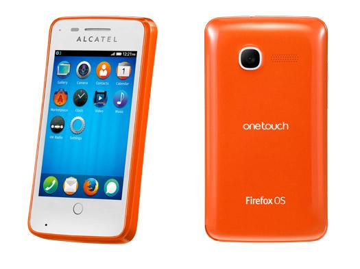 bd8d0842888 El Alcatel One Touch Fire con Firefox OS muy pronto en México