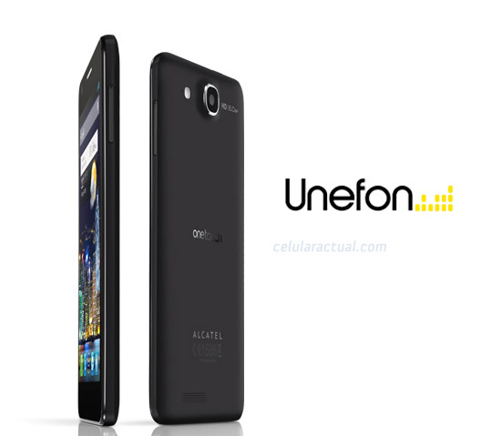 Alcatel One Touch Idol Ultra HD con Unefon