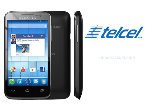 Alcatel One Touch M'Pop en México con Telcel