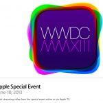 Transmisión en vivo del WWDC 2013 de Apple