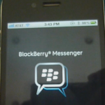 BlackBerry Messenger llegará a iOS y Android en junio 27