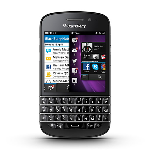 BlackBerry Q10 con BB 10 OS pronto en México