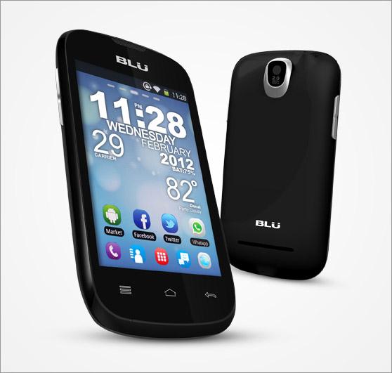 Blu Dash 3.5 ya en Unefon, un Android a 1 GHz accesible